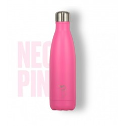 BOTELLA CHILLY 500ML PINK NEON