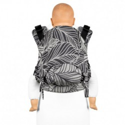 MOCHILA FIDELLA FUSION 2.0 DANCING LEAVES BLACK AND WHITE